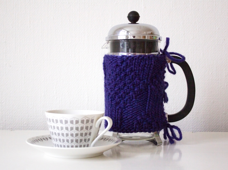 knit for french press