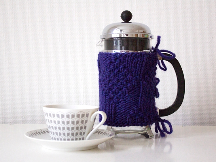 knit for the french press