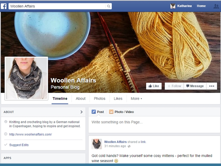 woollen affairs on facebook